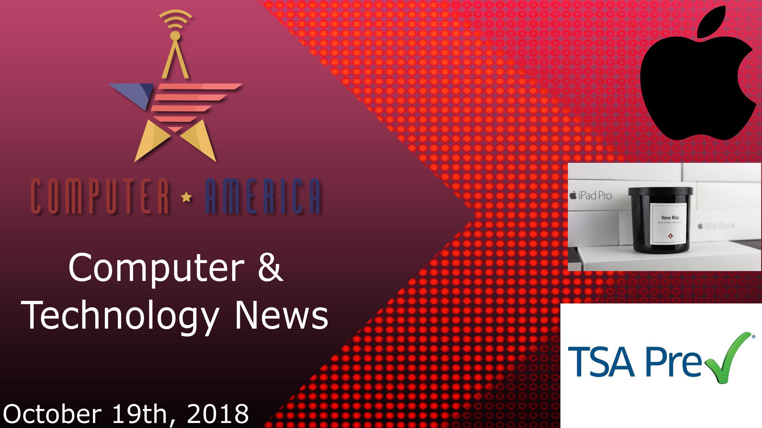 Computer/Technology News, Talking Apple News, TSA Biometric